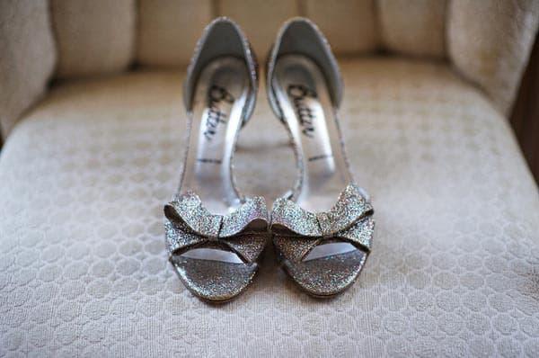 Butter Glitter Wedding Shoes