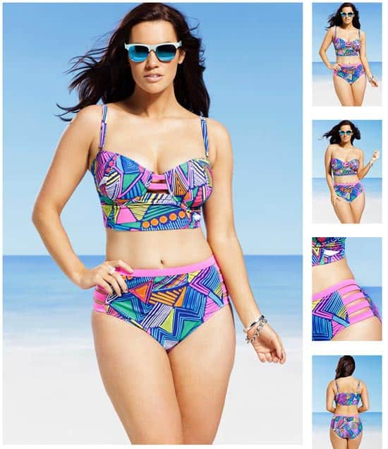GabiFresh Nala Plus Size Underwire Midkini