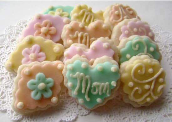 mother's day sugar cookies