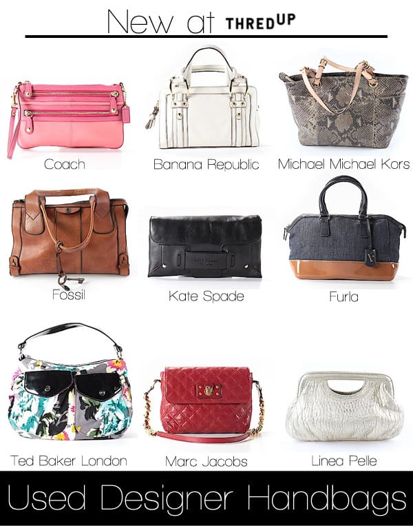 ThredUp Now Sells Used Designer Handbags