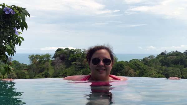Pool at Gaia Hotel & Reserve in Costa Rica