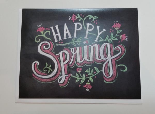 Happy Spring Note Card