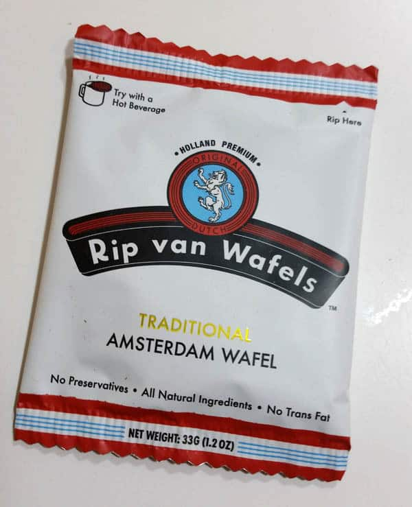 Rip Van Wafel Traditional Amsterdam Wafel