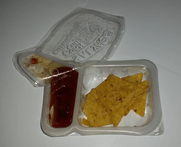 Graze Tortilla Chip and Salsa Snack