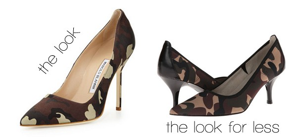 Camouflage Pumps