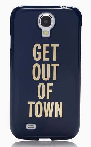 Kate Spade Get Out of Town Samsung Case