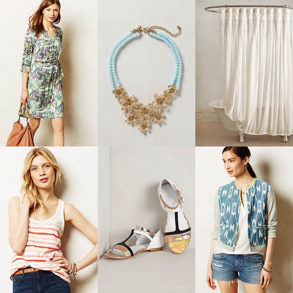 Anthro Summer Tag Sale