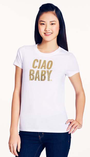 Kate Spade Ciao Baby Tee