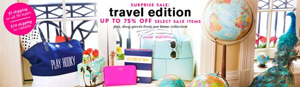 Kate Spade Surprise Sale: Travel