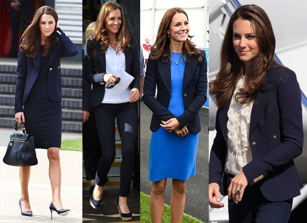 Steal this Look: Kate Middleton's Navy Blazer
