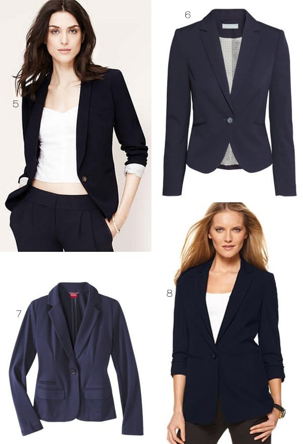 Steal Kate Middleton's Look with these Navy Blazers