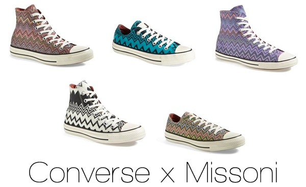 Converse x Missoni Collection at Nordstrom