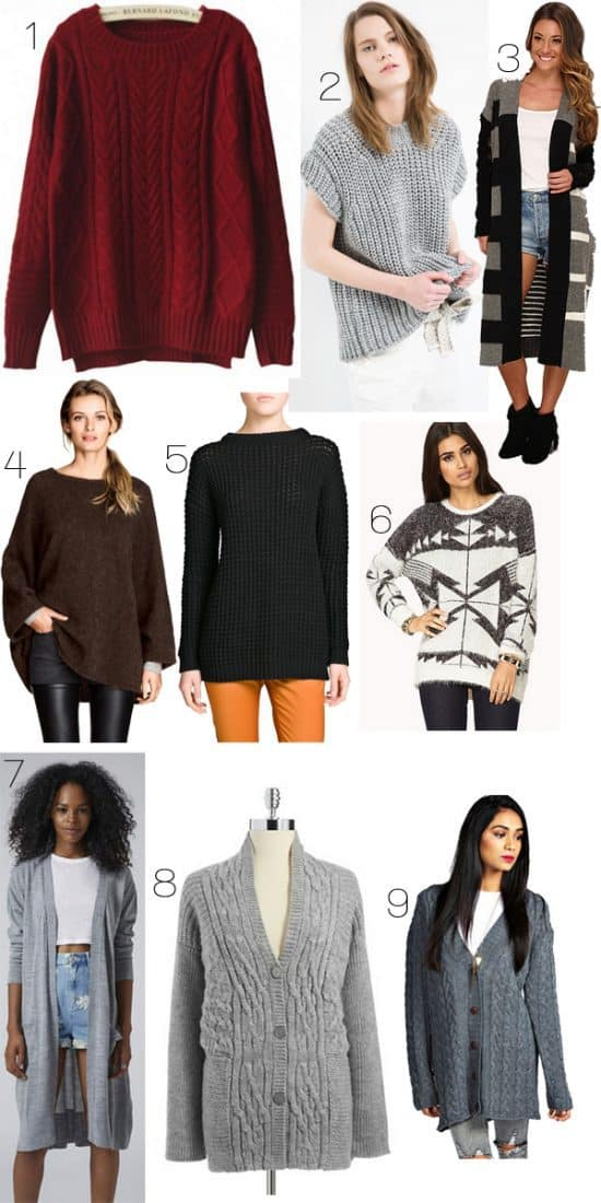 Fall 2014 Trends: Fall Sweaters Under $100