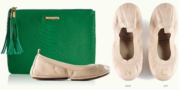 Gigi New York Bag + Ballet Flats