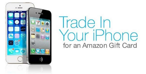 Trade in Your iPhone for an Amazon Gift Card