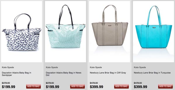 Kate Spade Sale: Fall 2014