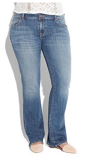 Lucky Brand Plus Size Georgia Boot Cut Jean