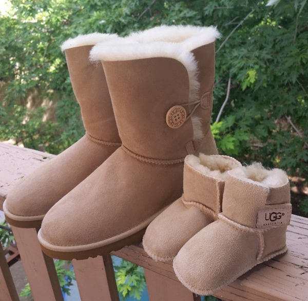 Baby Announcement: UGGs