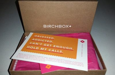 October 2014 Birchbox