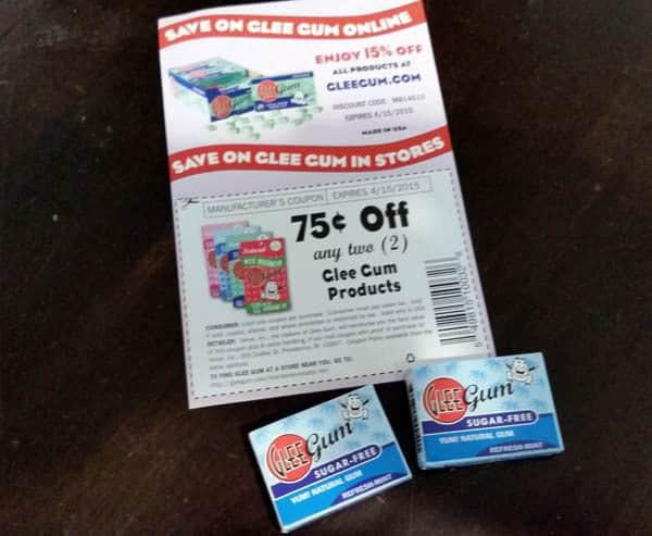Sugar-Free Glee Gum
