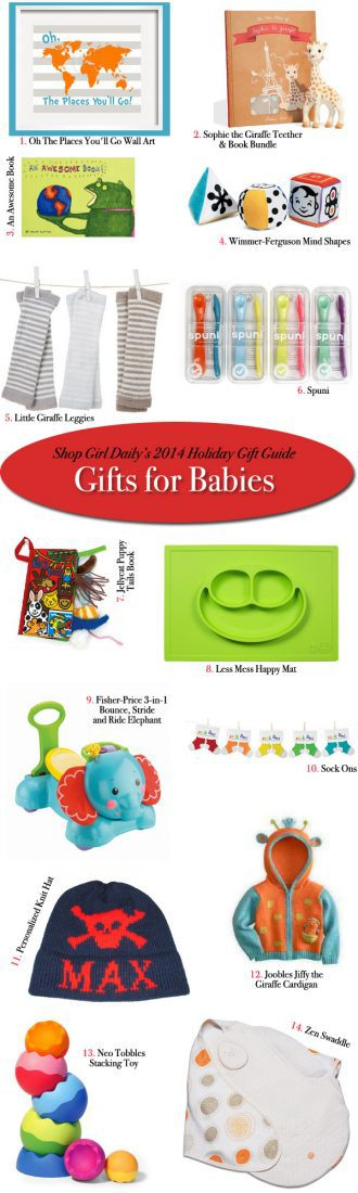 2014 Holiday Gift Guide: Gifts For Babies