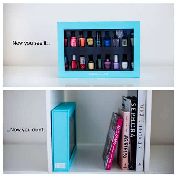 Color Clutch for Easy Nail Polish Storage