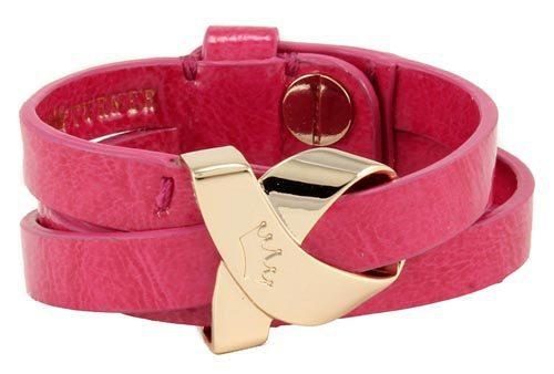 Elaine Turner Pink Wrap Bracelet