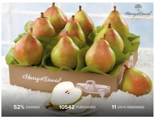Harry & David Maverick Royal Riviera Pears