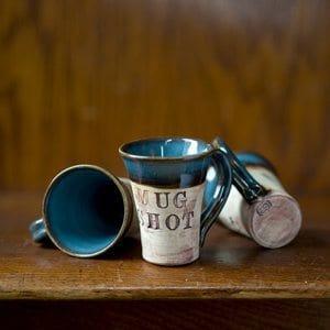 Mug Shot Shot Glass