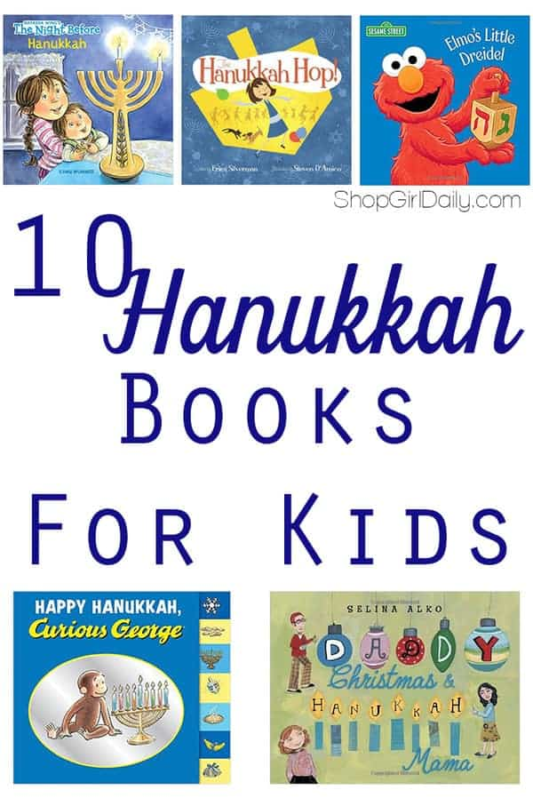10 Hanukkah Books for Kids | ShopGirlDaily.com
