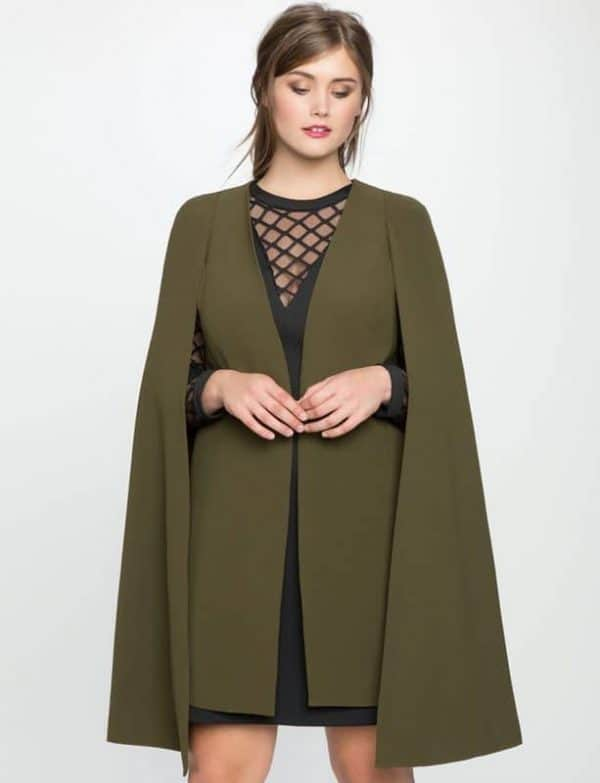 Long Cape Jacket from Eloquii