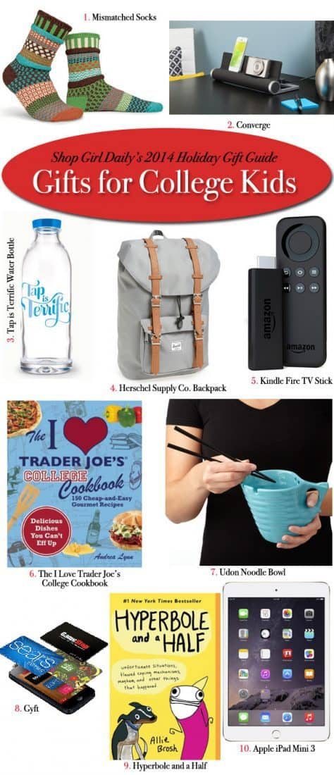 gift ideas for college kids Mark the big occasion with going away to college gift ideas from giftscom find great going away to college gifts for students to use as they embark on this.