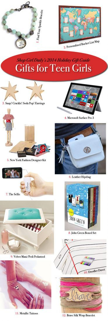 Holiday gift guide gifts for teen girls shop girl