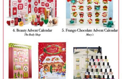 Stylish And Tasty Advent Calendars 2014