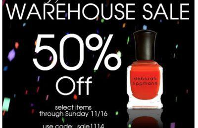Deborah Lippmann Warehouse Sale