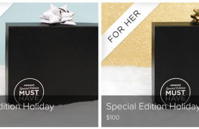 PopSugar Must Have Holiday Boxes