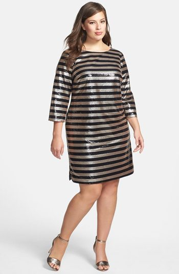 10 Plus Size Sequin Dresses - Shop Girl Daily