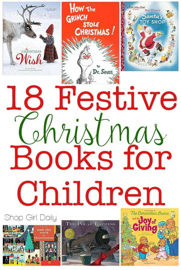 18 Festive Christmas Books for Kids - Shop Girl Daily
