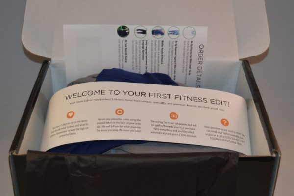 Wantable Fitness Edit Subscription Box Review