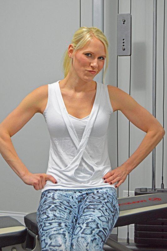 Wantable Fitness Edit: Vinyasa Top