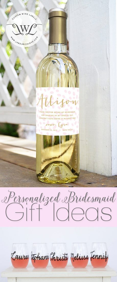Personalized Bridesmaid Gift Ideas