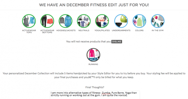 Wantable Fitness Review: Survey Summary
