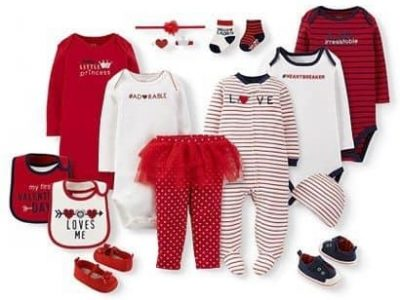 Adorable Valentine's Day Onesies For Little Ones