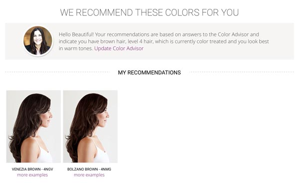 Madison Reed Recommendations