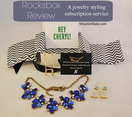 Rocksbox Jewelry Subscription Box Review