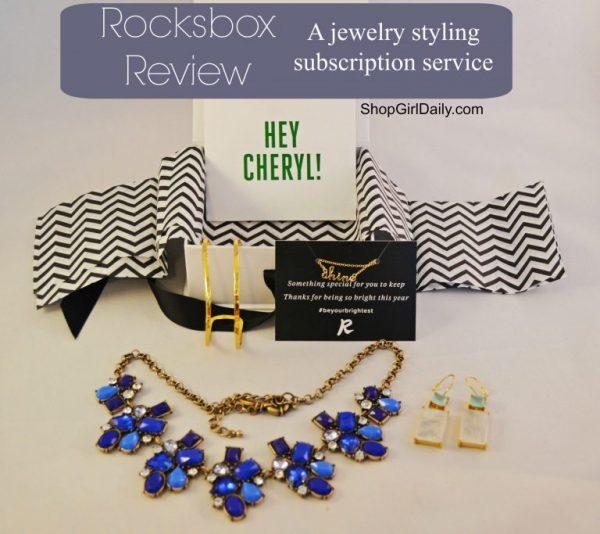 Rocksbox Subscription Review- ShopGirlDaily.com