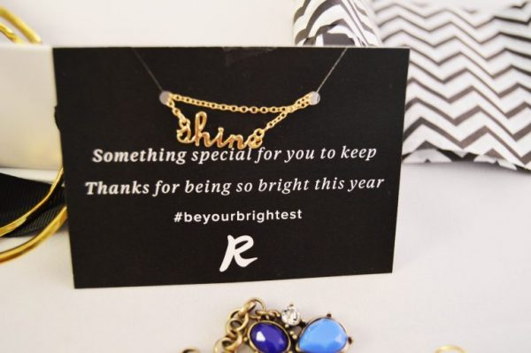 Rocksbox Review: Shine Necklace