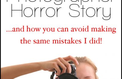 My Wedding Photographer Horror Story... And How You Can Avoid Making The Same Mistakes | ShopGirlDaily.com