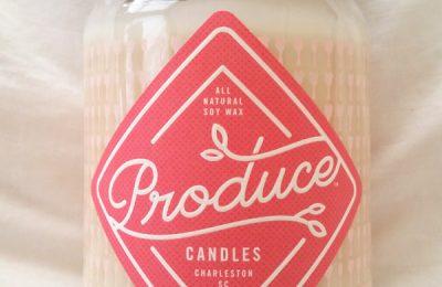 Produce Candle Rhubarb