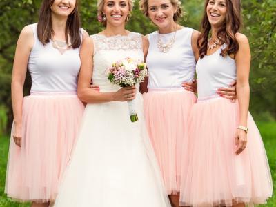 DIY Tulle Wedding Skirt Tutorials | ShopGirlDaily.com